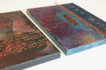 Encaustic Dagguereotype Paintings