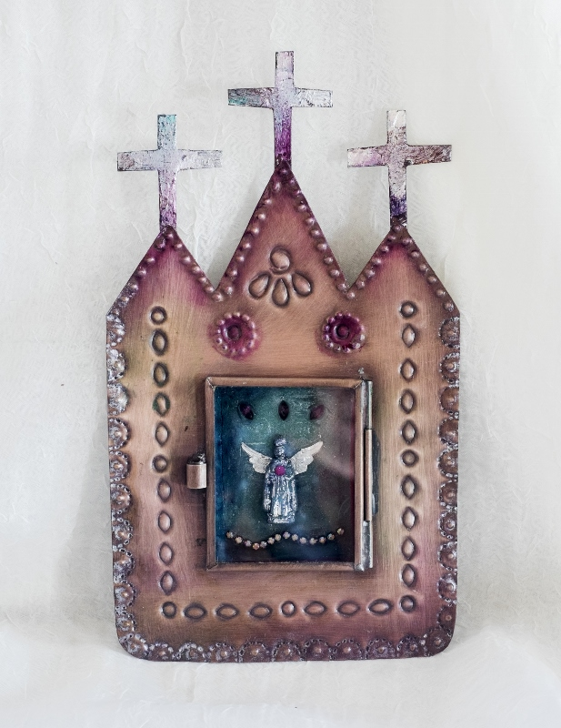 Encaustic Shrine-Linda Lenart McNulty