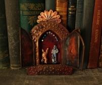 Linda Lenart McNulty-Circus Shrine III (800x672)